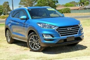 2019 Hyundai Tucson TL3 MY19 Elite AWD Blue 8 Speed Sports Automatic Wagon