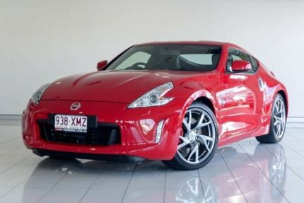 2016 Nissan 370Z Z34 MY17 Red 6 Speed Manual Coupe Southport Gold Coast City Preview