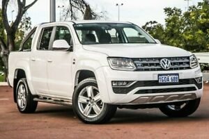 2018 Volkswagen Amarok 2H MY18 TDI550 4MOTION Perm Highline Candy White 8 Speed Automatic Utility Cannington Canning Area Preview