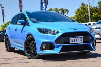 2017 Ford Focus LZ RS AWD Blue 6 Speed Manual Hatchback Wangara Wanneroo Area Preview