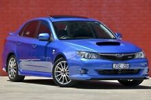 2010 Subaru Impreza G3 MY10 WRX AWD Blue 5 Speed Manual Sedan Pakenham Cardinia Area Preview