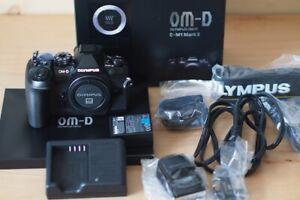 Olympus OMD EM1 Mark II in Black
