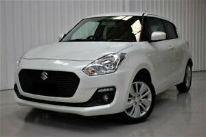 2018 Suzuki Swift AZ GL Navigator White 1 Speed Constant Variable Hatchback