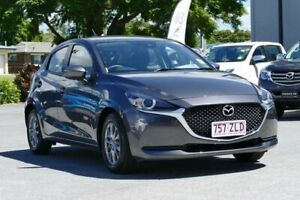 2019 Mazda 2 DJ2HAA G15 SKYACTIV-Drive Pure Grey 6 Speed Sports Automatic Hatchback Capalaba Brisbane South East Preview