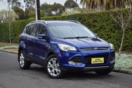 2013 Ford Kuga TF Trend PwrShift AWD Blue 6 Speed Sports Automatic Dual Clutch Wagon