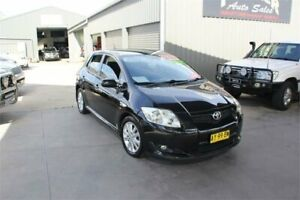 2008 Toyota Corolla ZRE152R Levin ZR Black 6 Speed Manual Hatchback Mitchell Gungahlin Area Preview