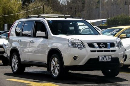 2011 Nissan X-Trail T31 MY11 ST-L (FWD) White Continuous Variable Wagon Ringwood East Maroondah Area Preview
