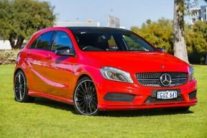 2015 Mercedes-Benz A250 W176 805+055MY Sport D-CT Red/Black 7 Speed Sports Automatic Dual Clutch Burswood Victoria Park Area Preview