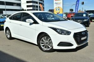 2016 Hyundai i40 VF4 Series II Active D-CT White 7 Speed Sports Automatic Dual Clutch Sedan Campbelltown Campbelltown Area Preview
