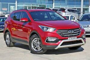 2016 Hyundai Santa Fe DM3 MY16 Active Red 6 Speed Sports Automatic Wagon Castle Hill The Hills District Preview