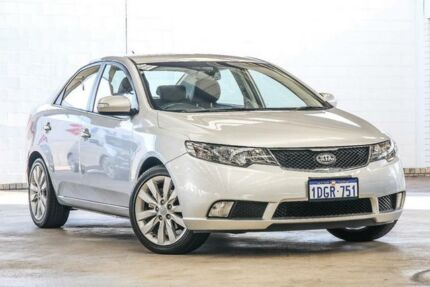 2010 Kia Cerato S TD MY10 Silver 4 SP AUTOMATIC Sedan Cannington Canning Area Preview