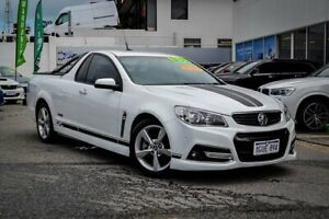 2013 Holden Ute VF MY14 SS V Ute White 6 Speed Sports Automatic Utility Myaree Melville Area Preview