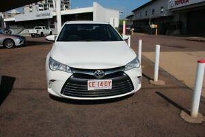 2016 Toyota Camry ASV50R Altise Diamond White 6 Speed Sports Automatic Sedan The Gardens Darwin City Preview