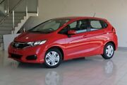 2017 Honda Jazz GF MY17 VTi Red 1 Speed Constant Variable Hatchback Southport Gold Coast City Preview