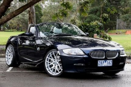 2006 BMW Z4 E85 3.0I Blue 5 Speed Auto Steptronic Roadster Ringwood East Maroondah Area Preview
