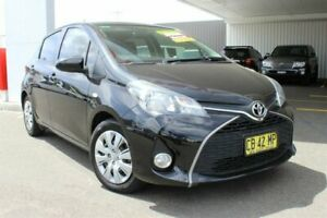 2014 Toyota Yaris NCP131R MY15 SX Ink 5 Speed Manual Hatchback Belmore Canterbury Area Preview