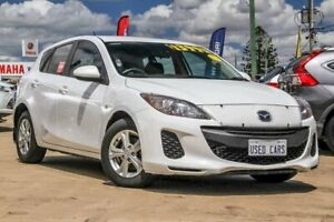 2012 Mazda 3 BL10F2 Maxx Activematic Sport White 5 Speed Sports Automatic Hatchback Gympie Gympie Area Preview