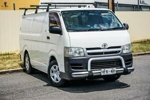 2005 Toyota HiAce TRH201R LWB White 4 Speed Automatic Van Gepps Cross Port Adelaide Area Preview