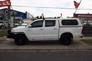 2010 Toyota Hilux KUN26R MY10 SR White 5 Speed Manual Utility