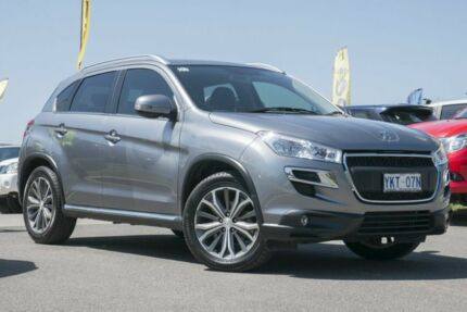 2012 Peugeot 4008 MY12 Active 2WD Grey 5 Speed Manual Wagon Pearce Woden Valley Preview