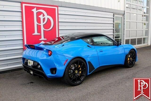 2021 Lotus Evora GT 2+2 21 Miles Daytona Blue