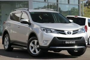 2013 Toyota RAV4 ASA44R GXL (4x4) Silver 6 Speed Automatic Wagon Wyong Wyong Area Preview