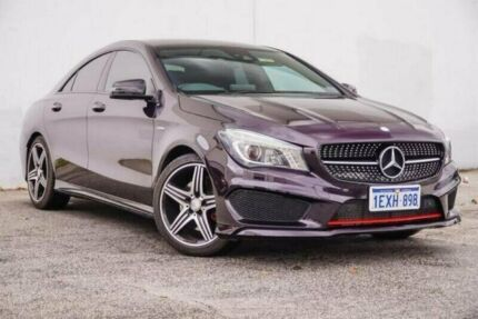 2016 Mercedes-Benz CLA250 C117 806MY Sport DCT 4MATIC Purple 7 Speed Sports Automatic Dual Clutch Midvale Mundaring Area Preview