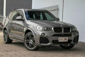 2015 BMW X3 F25 LCI xDrive20d Grey Automatic Springwood Logan Area Preview