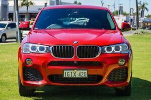 2017 BMW X4 F26 xDrive20d Steptronic Red 8 Speed Automatic Wagon