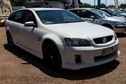 2009 Holden Commodore SV6VE MY09.5 White Automatic 4D SPORTSWAGEN Minchinbury Blacktown Area Preview