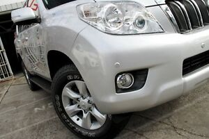 2012 Toyota Landcruiser Prado KDJ150R Altitude Silver 5 Speed Sports Automatic Wagon Mosman Mosman Area Preview