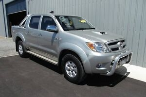 2008 Toyota Hilux KUN26R 08 Upgrade SR5 (4x4) Silver 4 Speed Automatic Dual Cab Pick-up Huntfield Heights Morphett Vale Area Preview