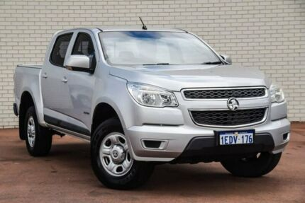 2013 Holden Colorado RG MY13 LX Crew Cab 4x2 Silver 6 Speed Sports Automatic Utility Bayswater Bayswater Area Preview