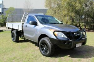 2014 Mazda BT-50 UP0YD1 XT 4x2 Hi-Rider Grey 6 Speed Sports Automatic Cab Chassis Ormeau Gold Coast North Preview