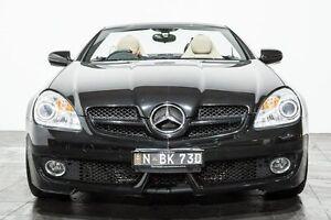 2010 Mercedes-Benz SLK200 Kompressor R171 MY09 Black 6 Speed Manual Roadster Rozelle Leichhardt Area Preview