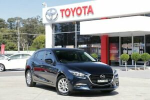 2015 Mazda 3 BM MY15 Maxx Blue 6 Speed Automatic Hatchback Wyoming Gosford Area Preview