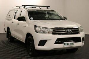 2016 Toyota Hilux GGN120R SR Double Cab 4x2 Glacier 6 Speed Sports Automatic Utility Acacia Ridge Brisbane South West Preview