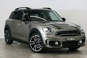 2018 Mini Countryman F60 Cooper S Steptronic Melting Silver 8 Speed Sports Automatic Wagon Darlinghurst Inner Sydney Preview