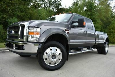 2008 Ford F-450 Lariat 2008 Ford F450SD Lariat 85257 Miles Gray Pickup Truck 8 Automatic