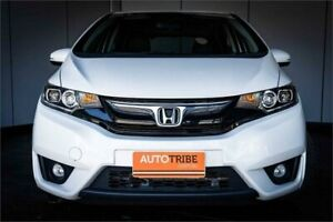 2014 Honda Jazz GK MY15 VTi-L White Continuous Variable Hatchback West Perth Perth City Area Preview