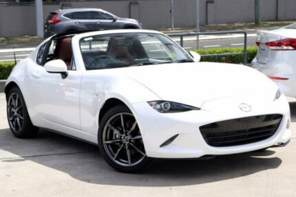 2017 Mazda MX-5 ND GT SKYACTIV-Drive White 6 Speed Sports Automatic Roadster