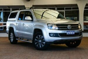2014 Volkswagen Amarok 2H MY14 TDI420 4Motion Perm Highline Silver 8 Speed Automatic Utility Melville Melville Area Preview