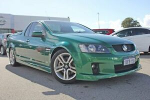 2009 Holden Ute VE MY10 SS Green 6 Speed Manual Utility Rockingham Rockingham Area Preview
