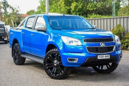 2016 Holden Colorado RG MY16 LTZ Crew Cab Blue 6 Speed Sports Automatic Utility