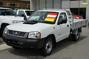 2012 Nissan Navara D22 S5 DX White 5 Speed Manual Cab Chassis East Rockingham Rockingham Area Preview