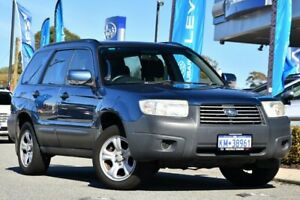2007 Subaru Forester 79V MY07 X AWD Blue 4 Speed Automatic Wagon Melville Melville Area Preview
