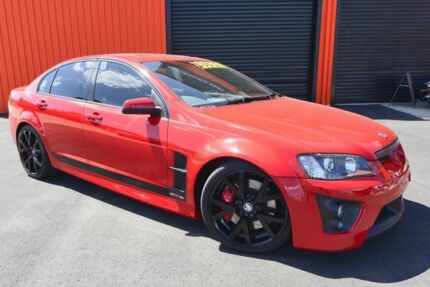 2006 Holden Special Vehicles GTS E Series Red & Black 6 Speed Auto Active Select Sedan