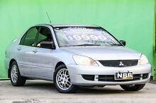 2007 Mitsubishi Lancer CH MY07 ES Silver Pearl 4 Speed Sports Automatic Sedan Ringwood East Maroondah Area Preview
