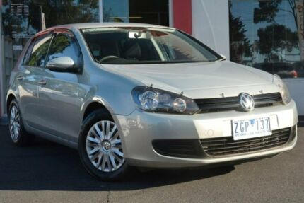 2012 Volkswagen Golf VI MY12.5 90TSI Trendline Silver 6 Speed Manual Hatchback Upper Ferntree Gully Knox Area Preview