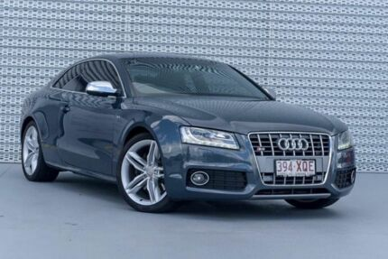 2009 Audi S5 8T MY10 Quattro Meteor Grey 6 Speed Sports Automatic Coupe